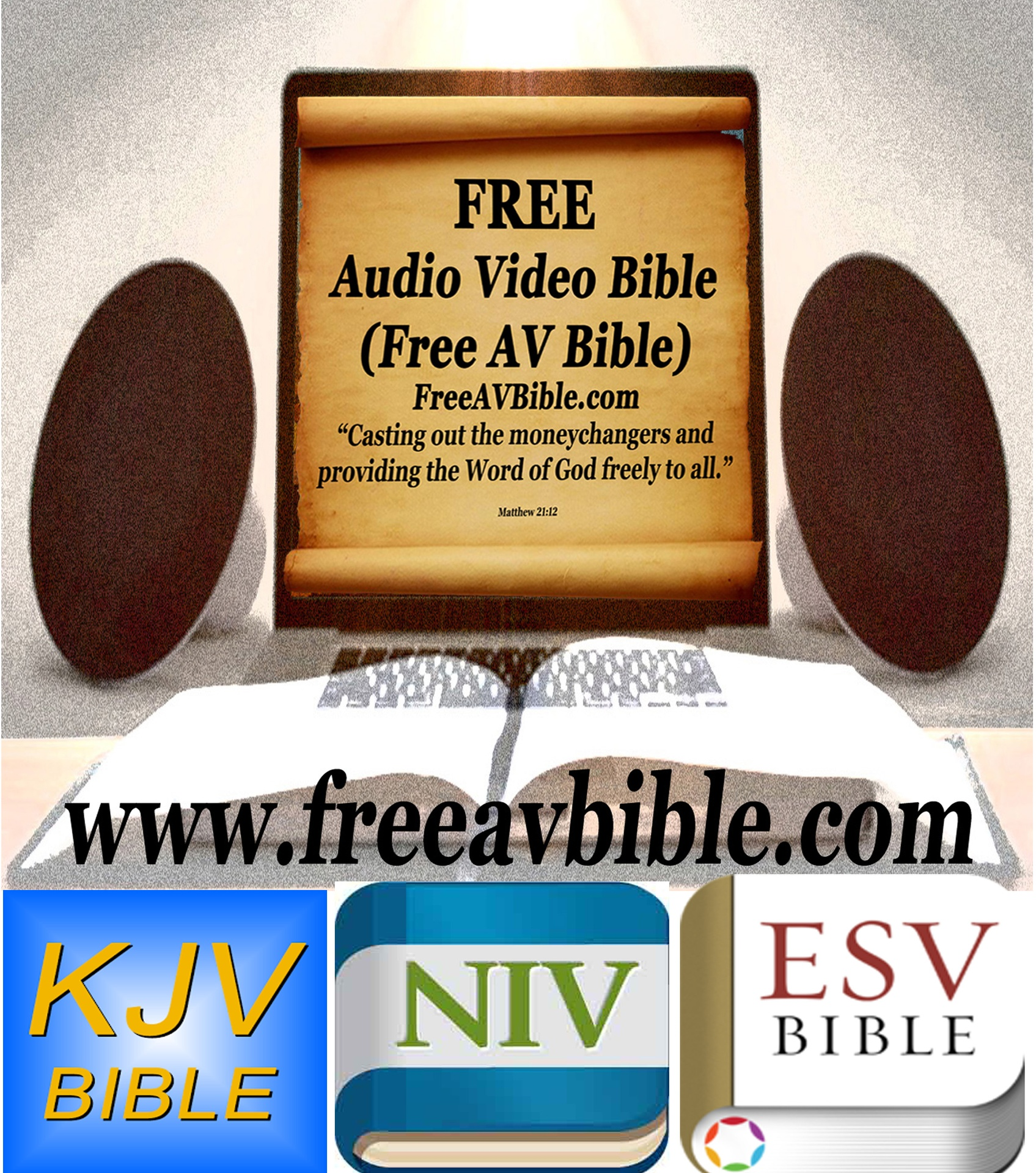 Free Audio Video Bible - Welcome